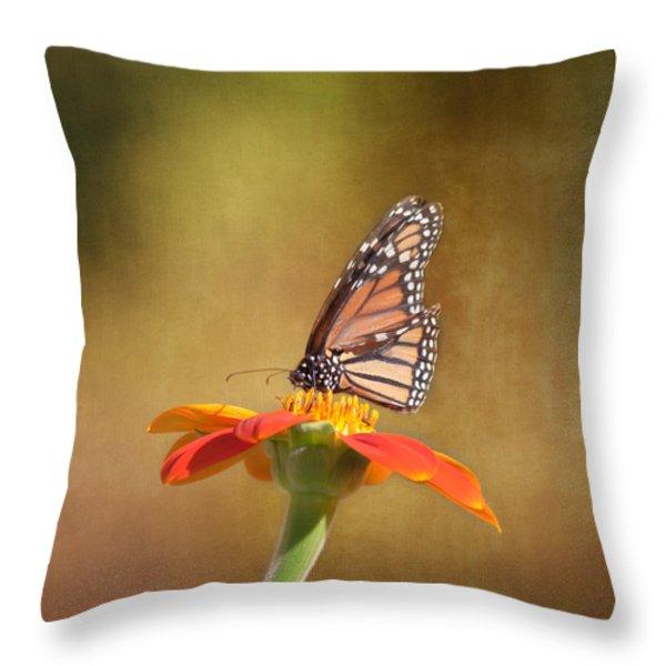 Embracing Nature Throw Pillow by Kim Hojnacki