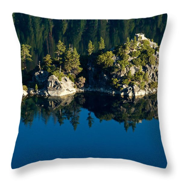 Emerald Isle Throw Pillow by Bill Gallagher