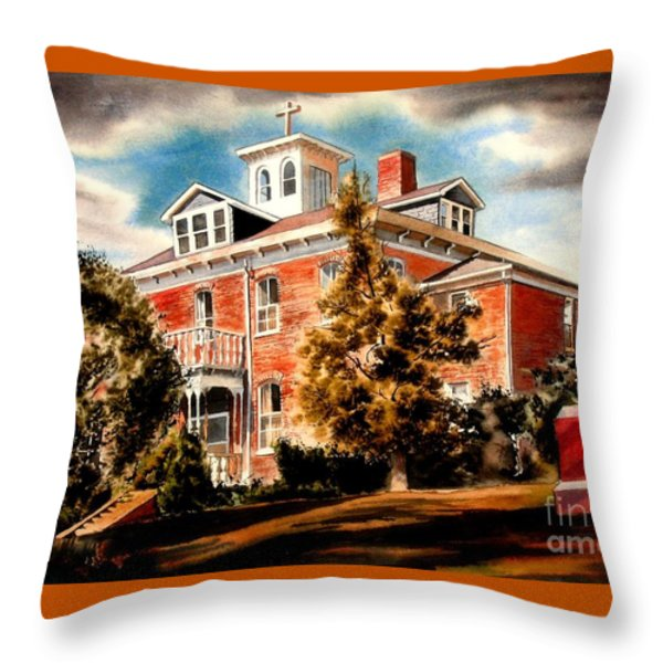 Emerson House Throw Pillow by Kip DeVore