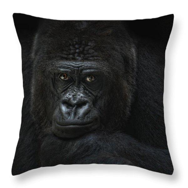 emotive robbery Throw Pillow by Joachim G Pinkawa