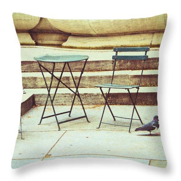 Empty Throw Pillow by Karol  Livote