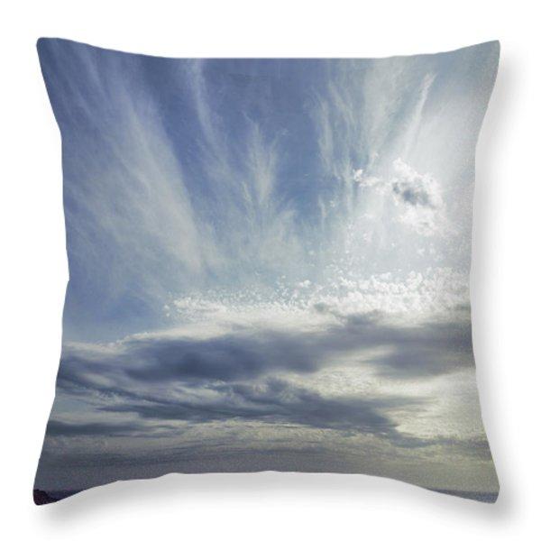 Empyrean Throw Pillow by Andrew Paranavitana