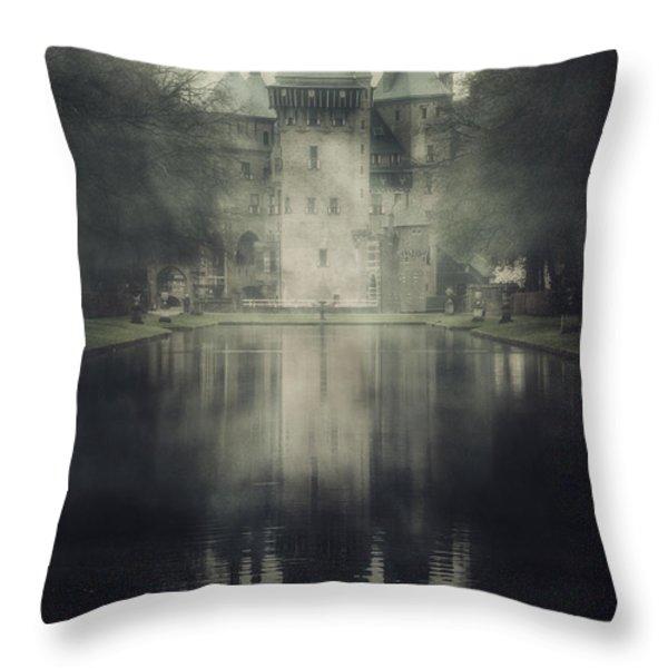 enchanted castle Throw Pillow by Joana Kruse