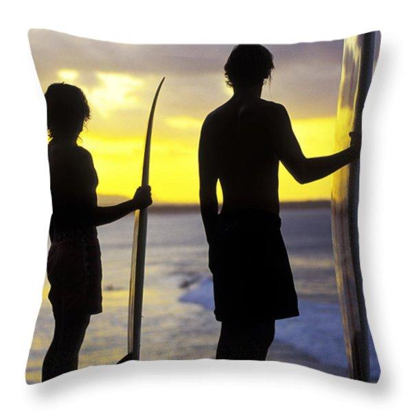 Endless Summer Throw Pillow by Sean Davey