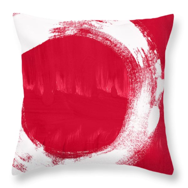Energy Throw Pillow by Linda Woods
