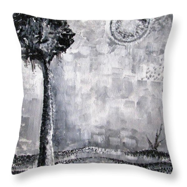 Enigmatic Throw Pillow by Prajakta P