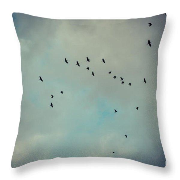 Enjoy Throw Pillow by Hannes Cmarits