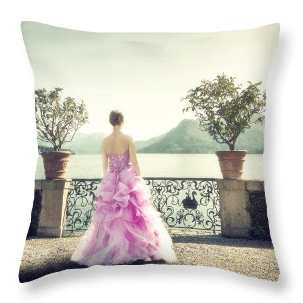 enjoying Italy Throw Pillow by Joana Kruse