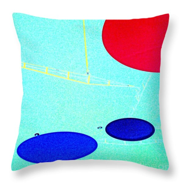 enter here Throw Pillow by Jacqueline McReynolds