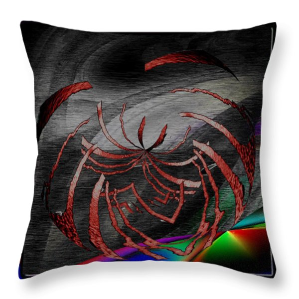 Enveloped 10 Throw Pillow by Tim Allen