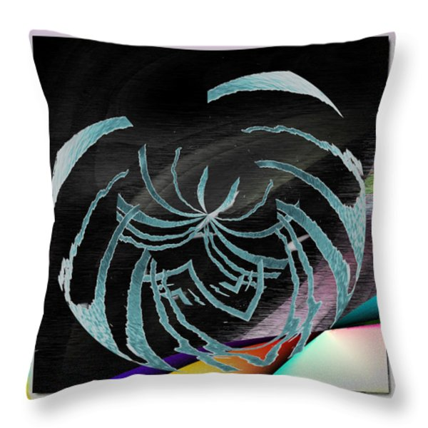 Enveloped 9 Throw Pillow by Tim Allen