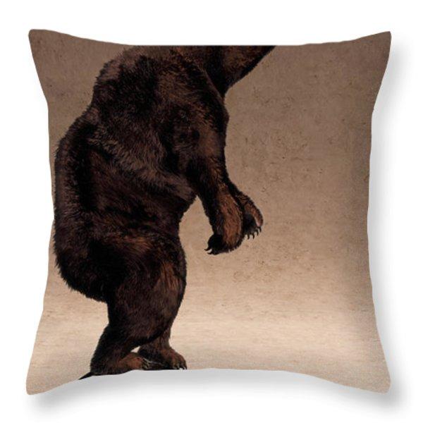 Equilibrium IV Throw Pillow by Cynthia Decker