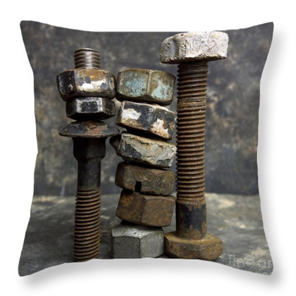Equipment Throw Pillow by BERNARD JAUBERT