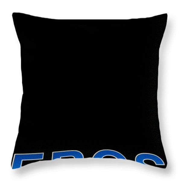 Eros Throw Pillow by Stylianos Kleanthous