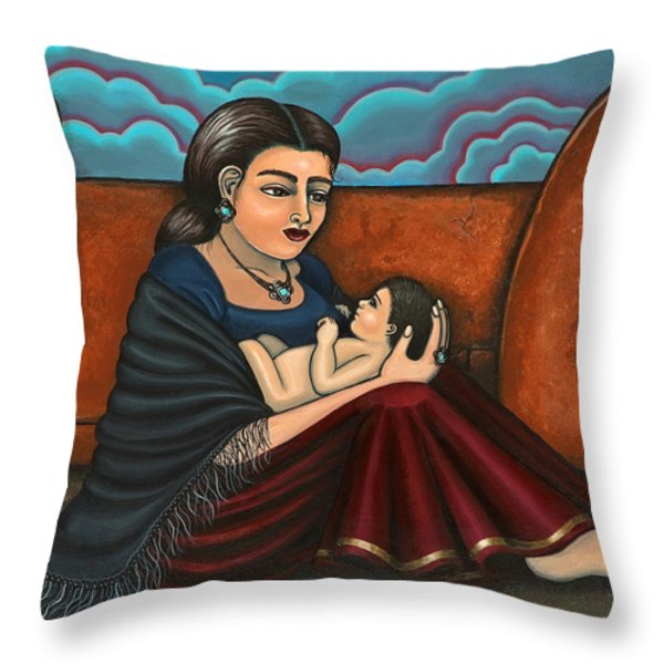 Es Todo  Or You Are Everything Throw Pillow by Victoria De Almeida