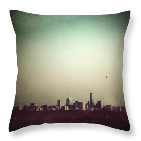 Escaping the City Throw Pillow by Trish Mistric