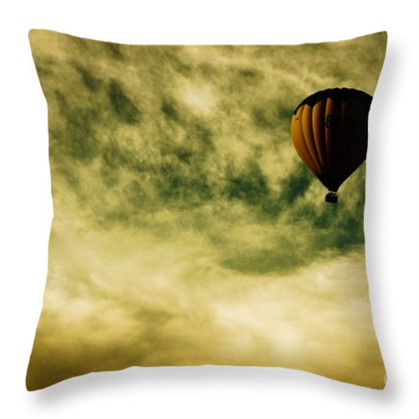 Escapism Throw Pillow by Andrew Paranavitana
