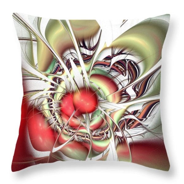 Eternal Battle Throw Pillow by Anastasiya Malakhova