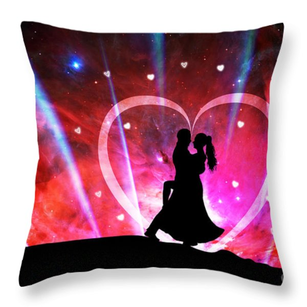 Eternal Love Throw Pillow by Phill Petrovic