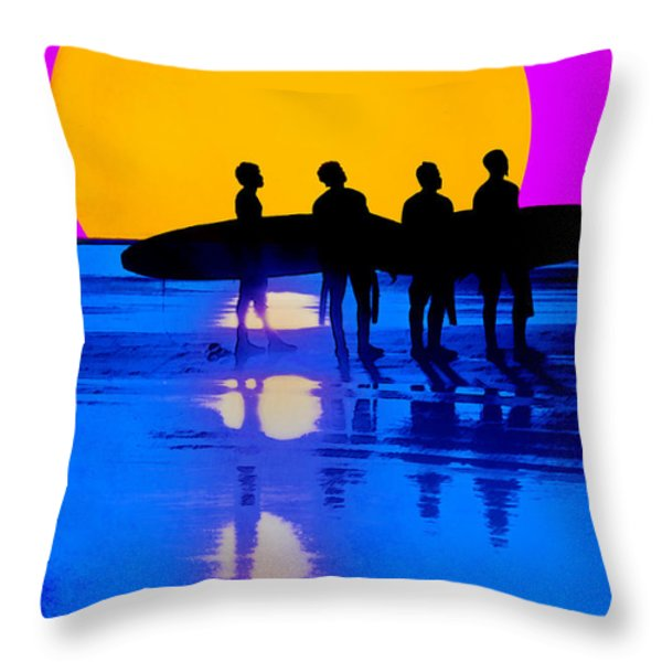 Eternal Summer Throw Pillow by Lisa Knechtel