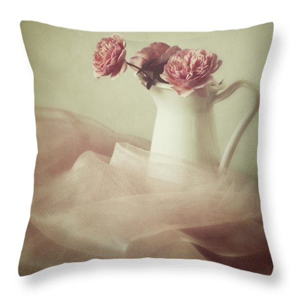 Ethereal Throw Pillow by Amy Weiss