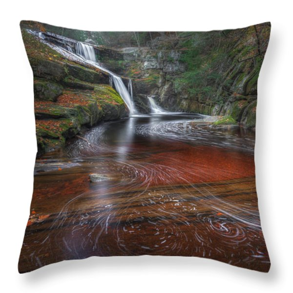 Ethereal Autumn Throw Pillow by Bill  Wakeley