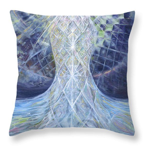 Ethereal Elemental Throw Pillow by Jerod  Kytah