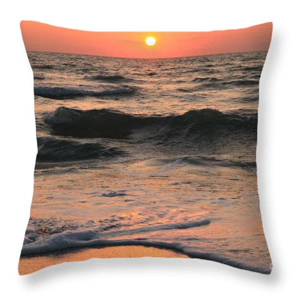 Evening Pastels Throw Pillow by Adam Jewell