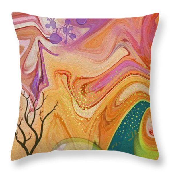 Everlasting Throw Pillow by Peggy Gabrielson