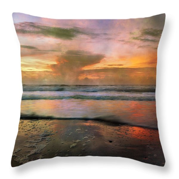 Every Day is a New Beginning Throw Pillow by Betsy A  Cutler