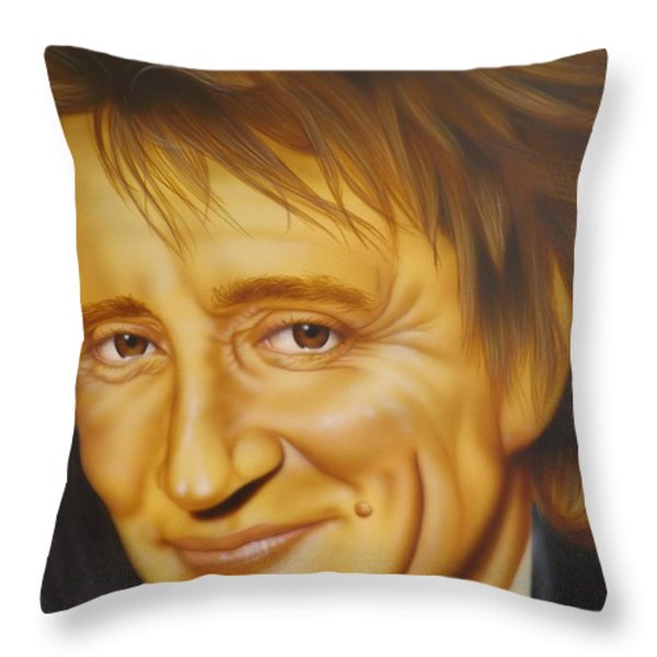 Every Picture Tells A Story... Don't It Throw Pillow by Darren Robinson