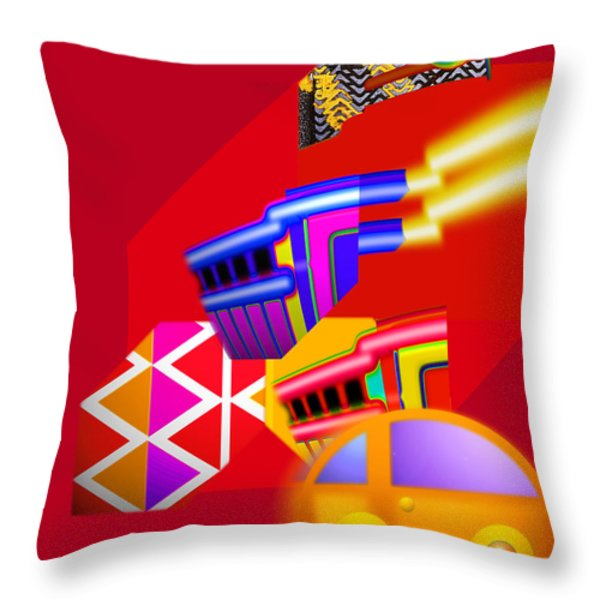 Every Thing You Do Throw Pillow by Charles Stuart