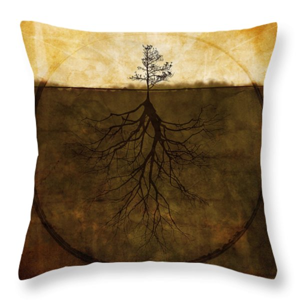 Exemplar Throw Pillow by Brett Pfister
