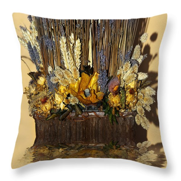 Exotic Bouquet Throw Pillow by Svetlana Sewell