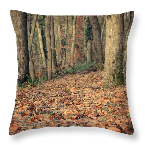 Expectation Throw Pillow by Taylan Soyturk