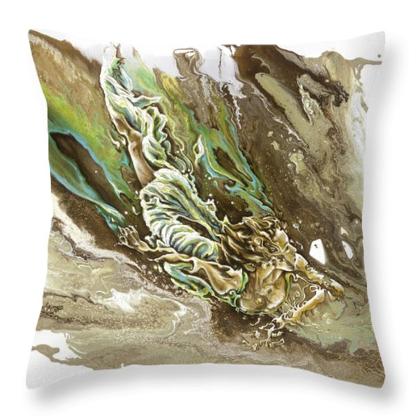 Explore Throw Pillow by Karina Llergo Salto