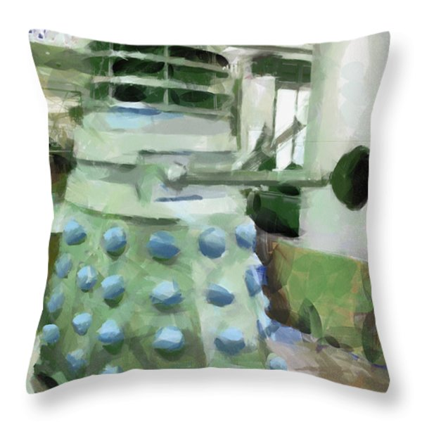 Exterminate Throw Pillow by Steve Taylor