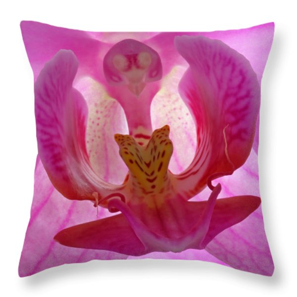 Extremely Loud And Incredibly Close Throw Pillow by Juergen Roth