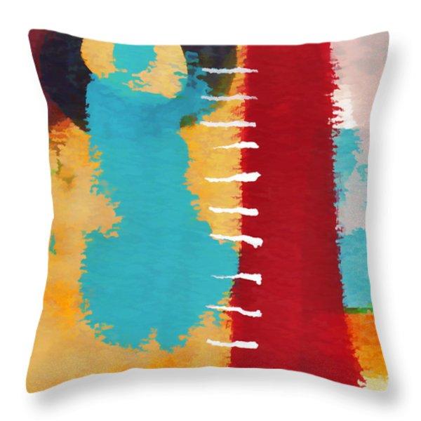 Exuberance Mini 11 Throw Pillow by Carol Leigh