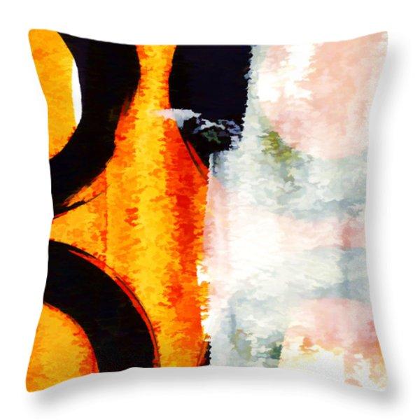 Exuberance Mini 13 Throw Pillow by Carol Leigh