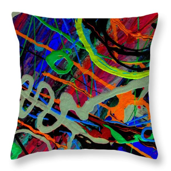 Eye Of Expression Throw Pillow by David Rogers