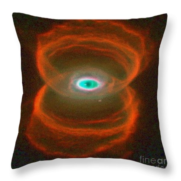 Eye Of God Throw Pillow by M and L Creations
