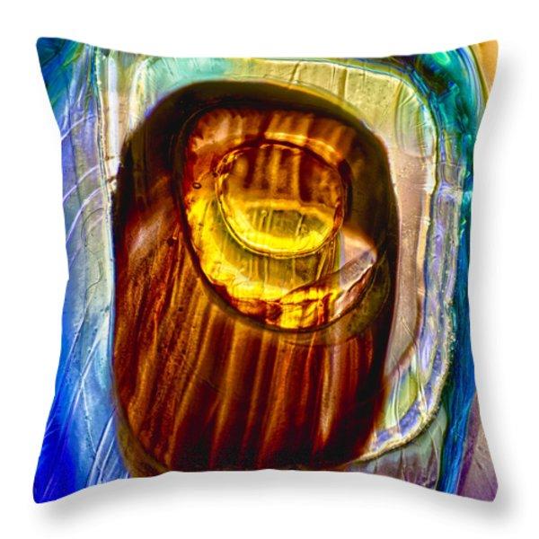 Eye of Zeus Throw Pillow by Omaste Witkowski