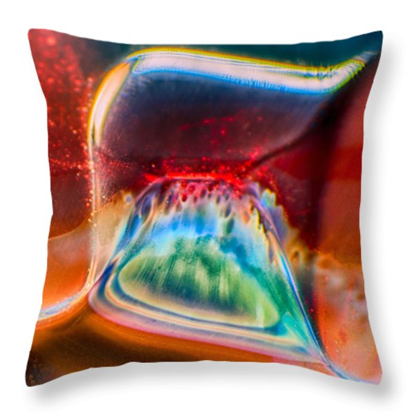 Eyeland Throw Pillow by Omaste Witkowski