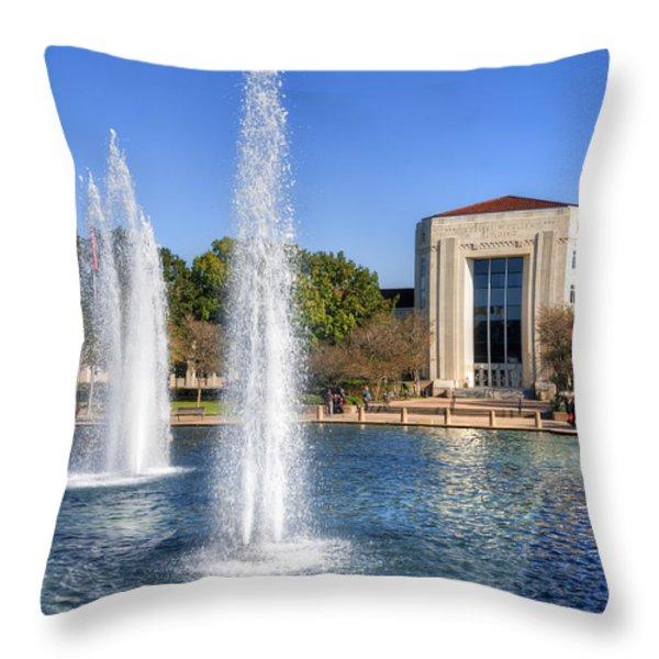 Ezekiel W. Cullen Building Throw Pillow by Tim Stanley