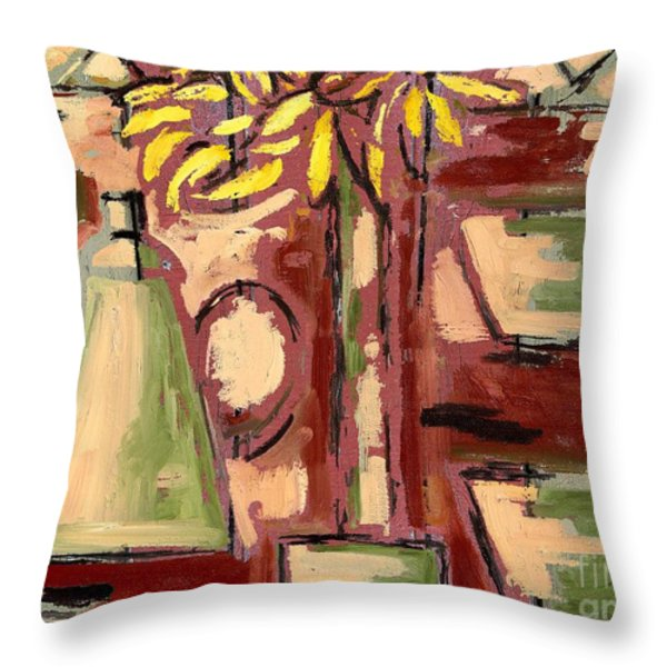 FADED 2 Throw Pillow by Patrick J Murphy
