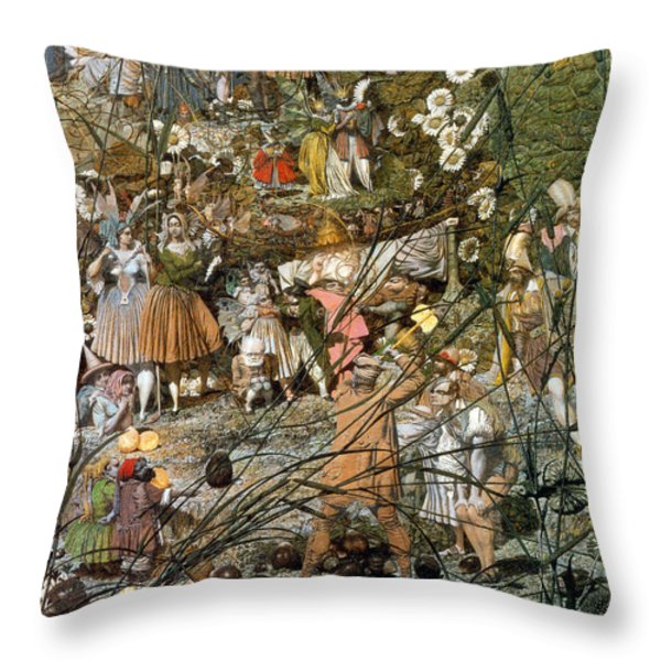 Fairy Fellers Master-stroke Throw Pillow by Photo Researchers