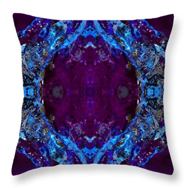 Fairy Water Throw Pillow by Nataliya Kiryukhina