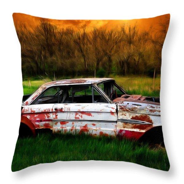 Falcon Throw Pillow by Liane Wright