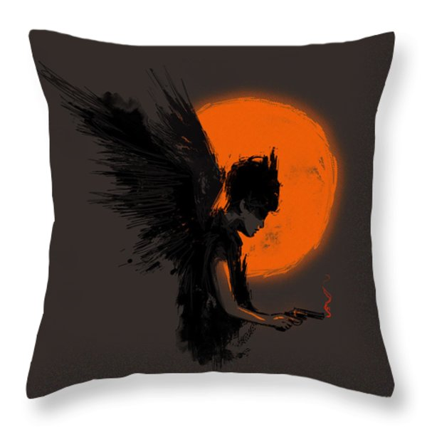 Fallen one Throw Pillow by Budi Satria Kwan